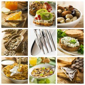 Horario de alimentos de dieta GM